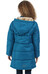 Regatta Winter Hill Coat Girls Petrol Blue